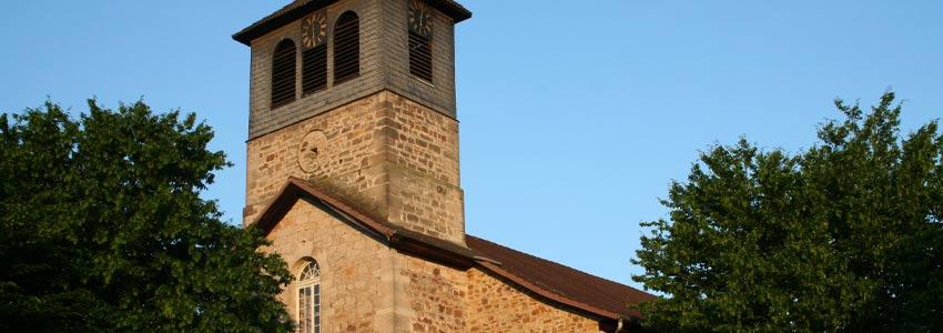 Kirche in Wesertal Oedelsheim